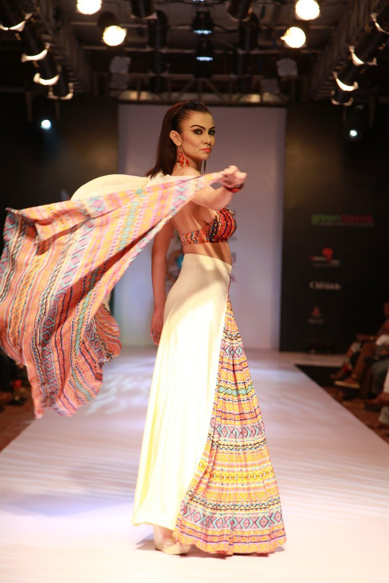 myntra bangalore fashion week photos