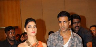 Akshay Kumar and Tamannaah Bhatia walk the ramp with dogs – Photos