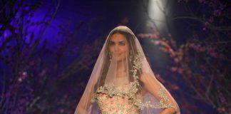 India Bridal Week 2014 Photos – Esha Gupta walks for Jyotsana Tiwari on Day 4
