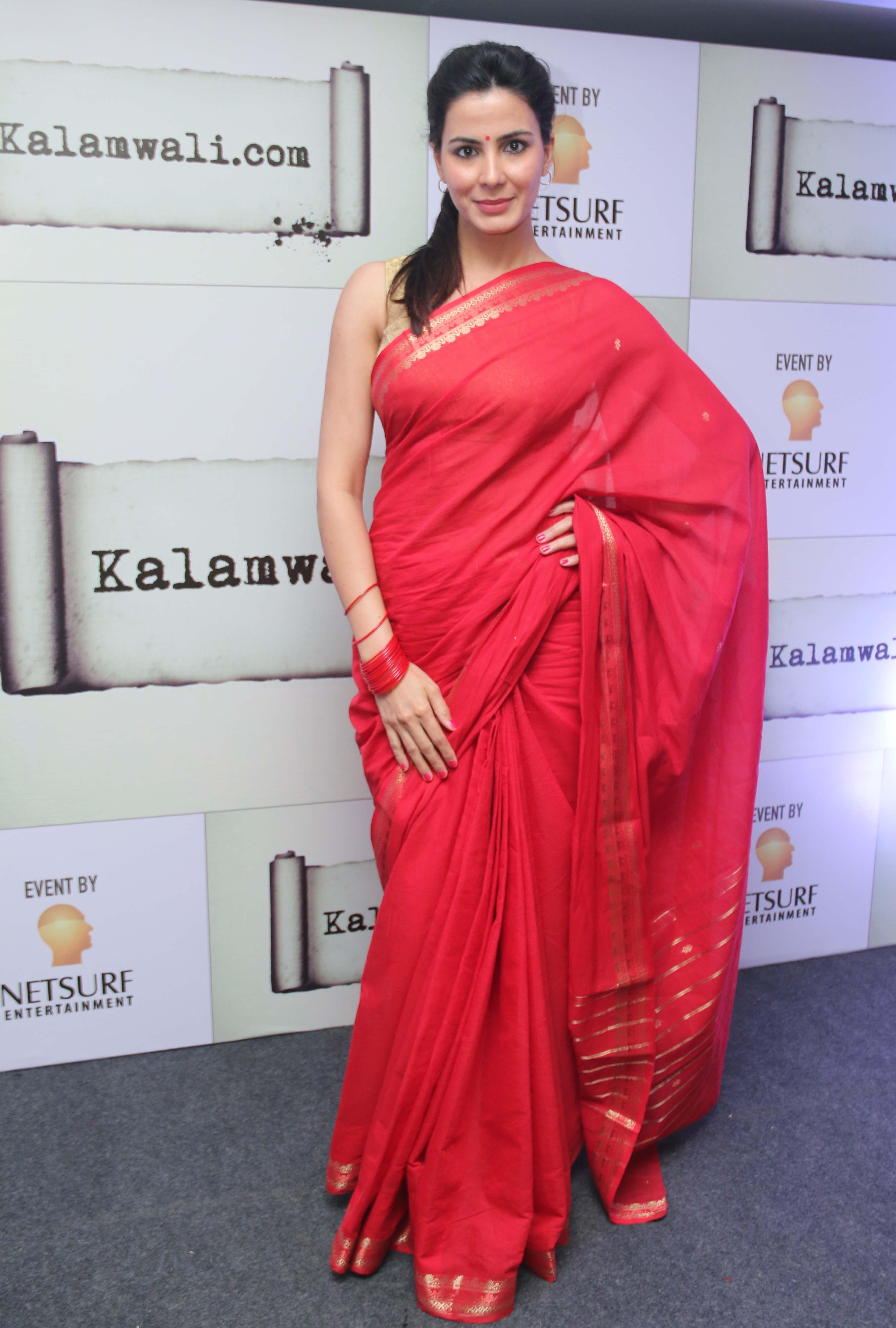 Kirti Kulhari Kalamwali.com launch (1)