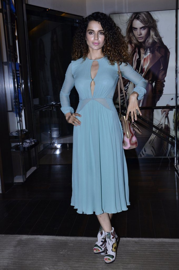 Bollywood's 'Queen' Kangana Ranaut attends Grazia India Magazine launch event