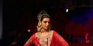 India Bridal Fashion week 2014 Photos – Kangana Ranaut walks for Suneet Verma on Day 3