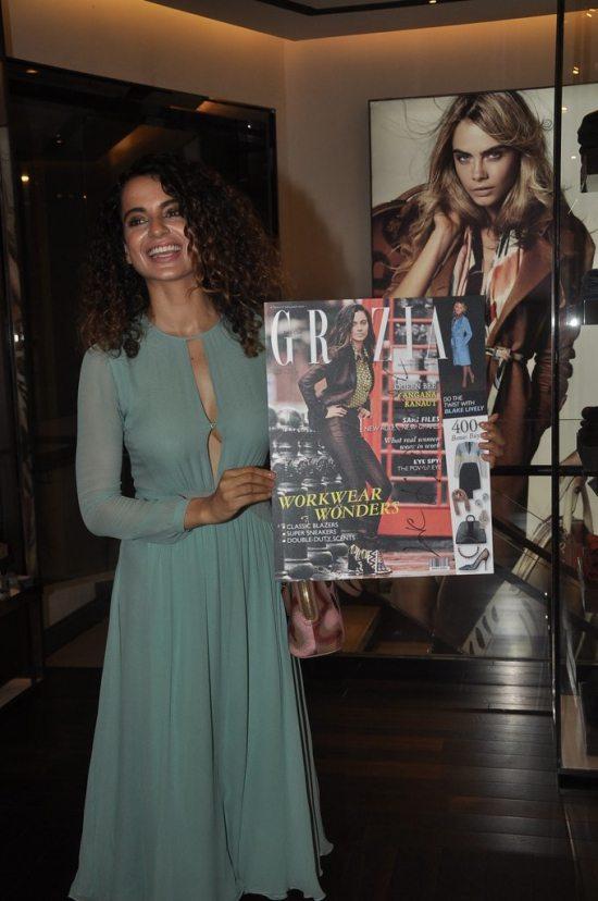 Kangana Ranaut attends Grazia India magazine