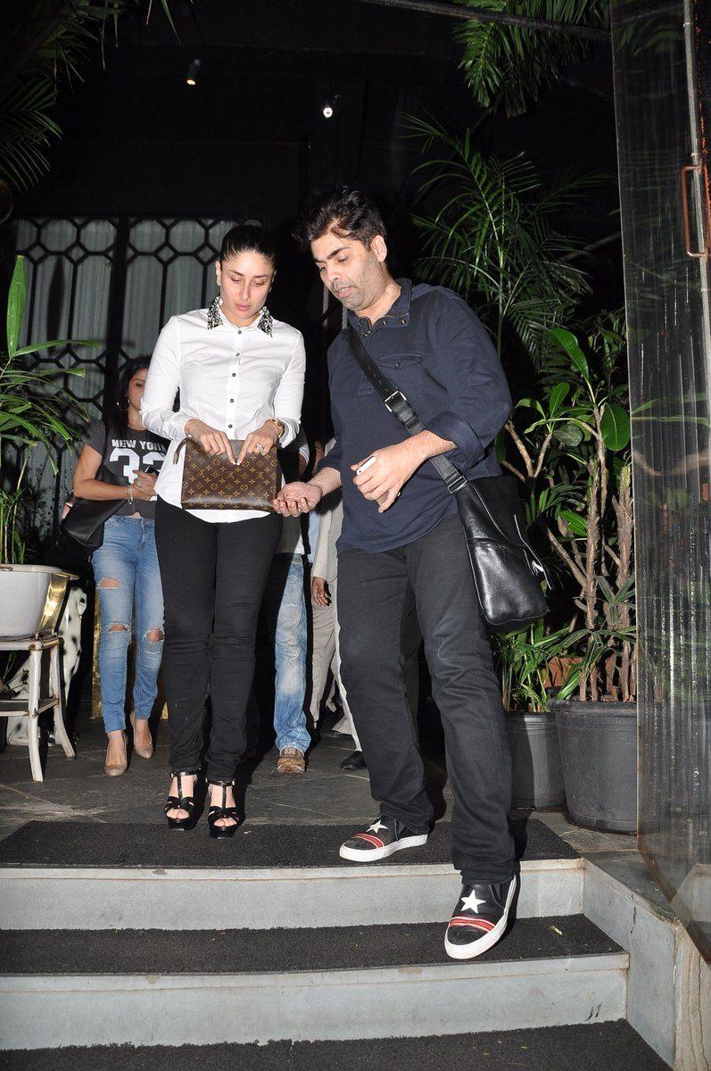 Karan Johar, Kareena Kapoor and Arjun Rampal