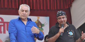 Celebrities attend Krishna Hegde's Dahi Handi event