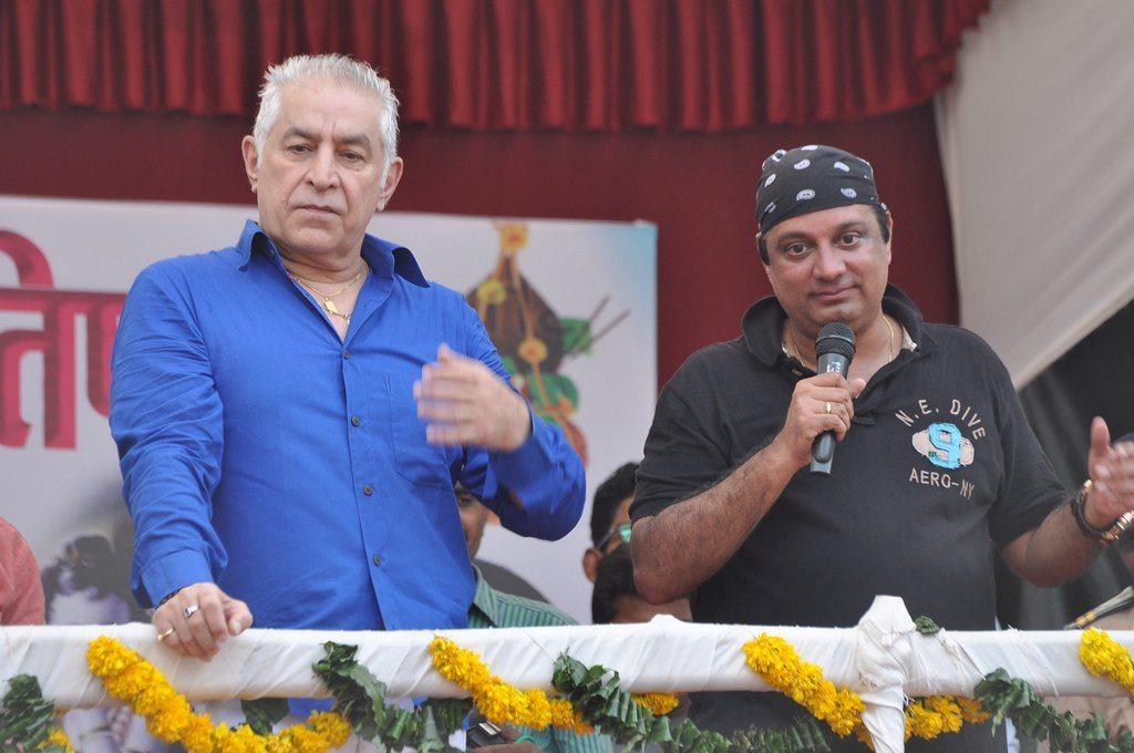Krishna Hegde's Dahi Handi event