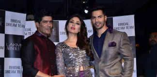 Lakme Fashion Week Winter Festive 2014 Photos – Kareena Kapoor and Varun Dhawan walk for Manish Malhotra