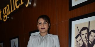 Rani Mukherji unveils Mardaani anthem at press event