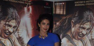 Priyanka Chopra at 'Mary Kom' exclusive footage screening
