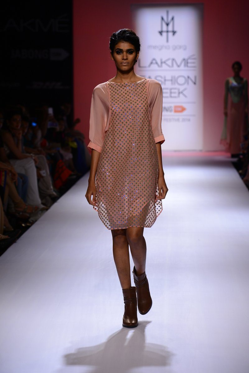 Megha Garg showcases her collection LFW (1)