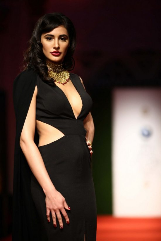 Nargis_fakhri_India_bridal_week_201433