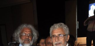 Naseeruddin Shah  attends Poetry Festival