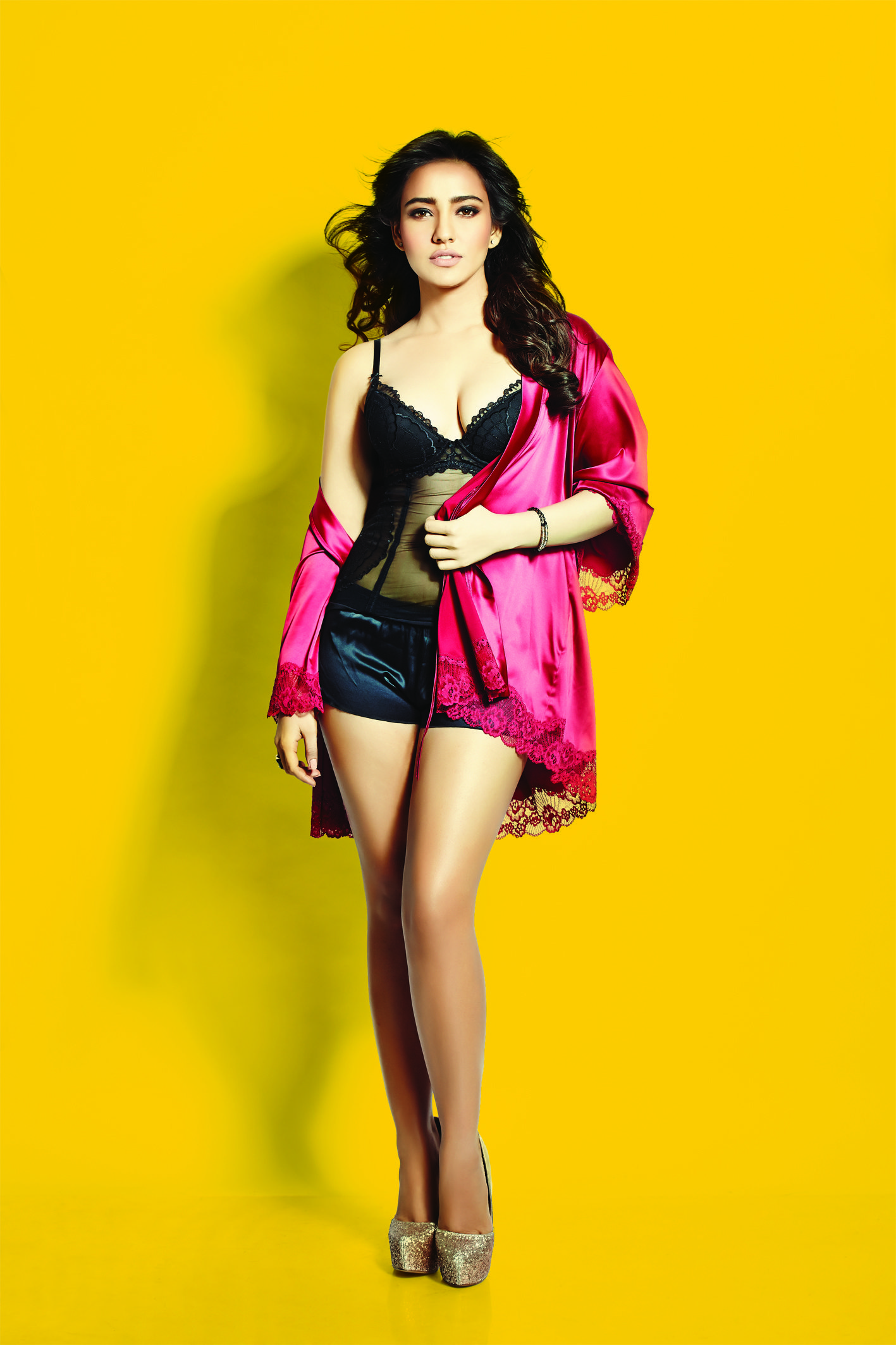Neha Sharma FHM cover