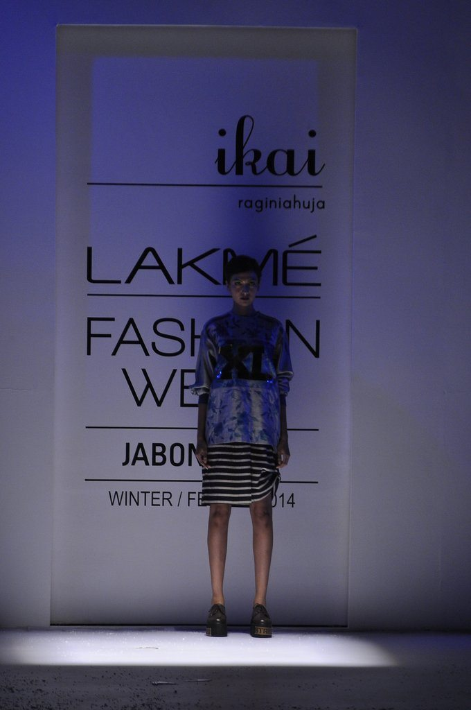 Ragini Ahuja's 'Metal' collection LFW 2014