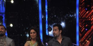 Emraan hashmi and Humaima Malik promote Raja Natwarlal on Jhalak Dikhhla Jaa