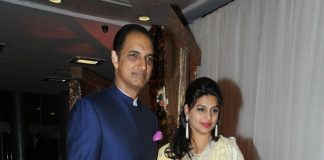 Sridevi and Boney Kapoor attend Rajiv Reddy's  engagement