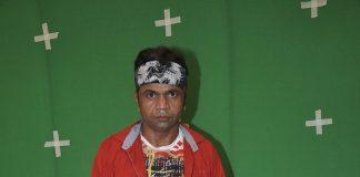 Rajpal Yadav on sets of Hume Toh Loot Liya