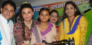 Rakhi Sawant supports women empowerment initiative – Photos
