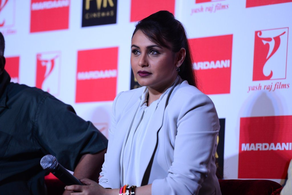Rani Mukherji at Mardani press meet