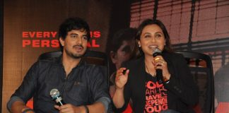 Rani Mukherji and Tahir Bhasin attend Mardaani success meet
