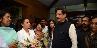 Rani Mukerji hosts special screening of Mardaani for Prithviraj Chavan