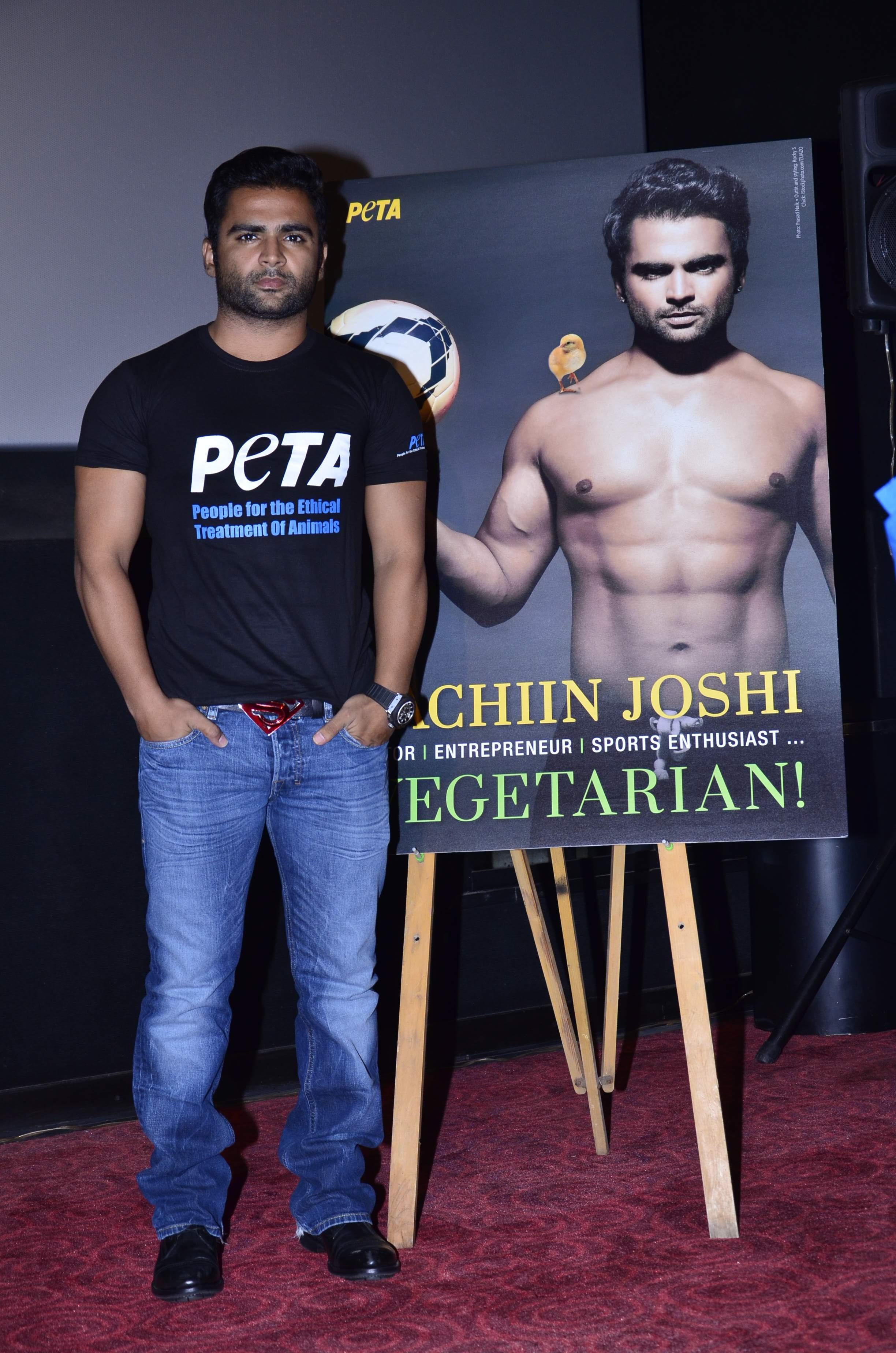Sachiin Joshi PETA (4)