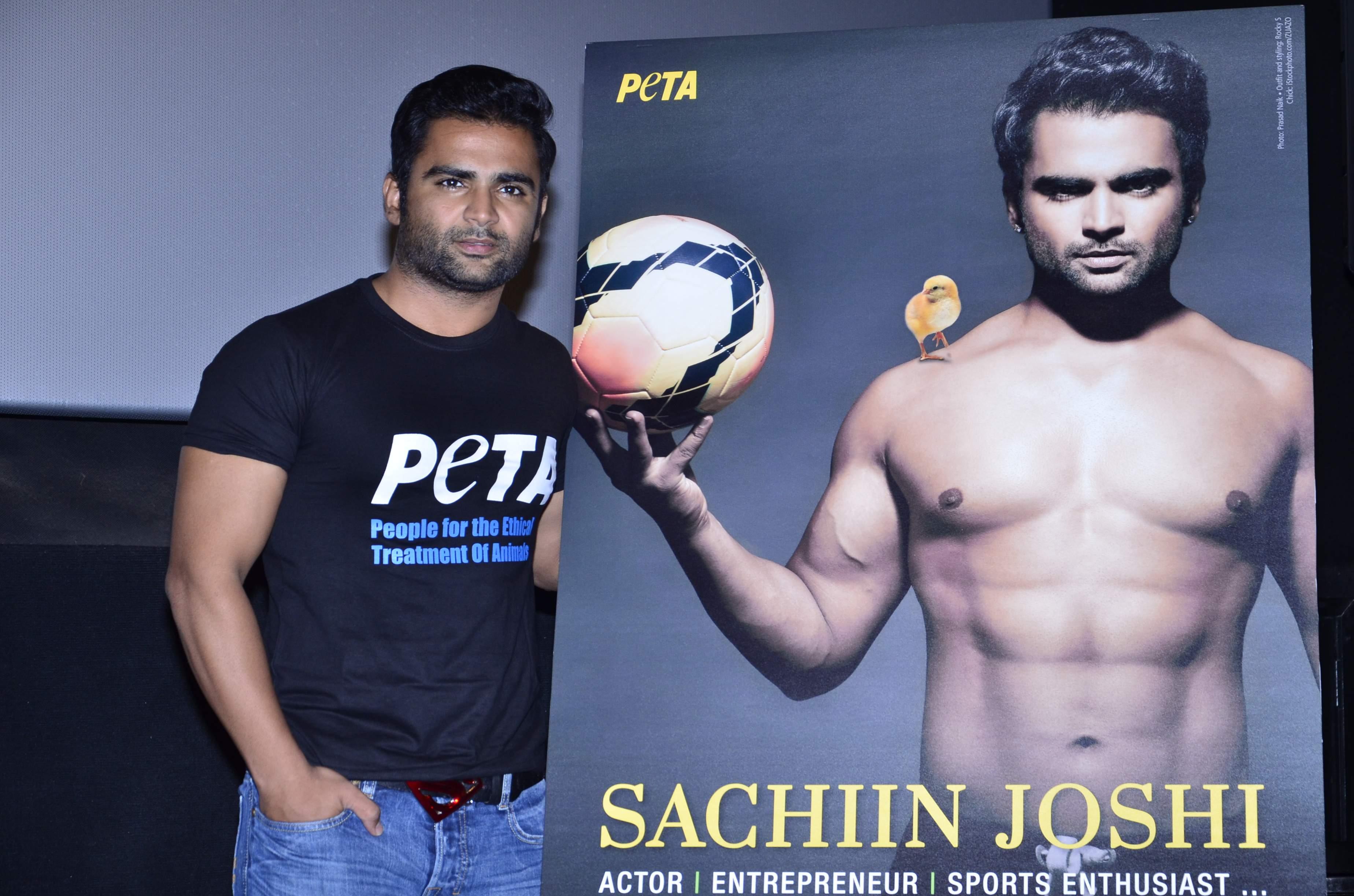 Sachiin Joshi PETA (5)