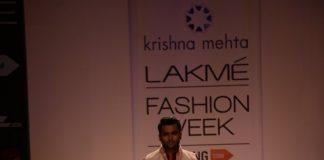 Lakme Fashion Week Winter/Festive 2014 Photos – Sachin Joshi walks for Krishna Mehta