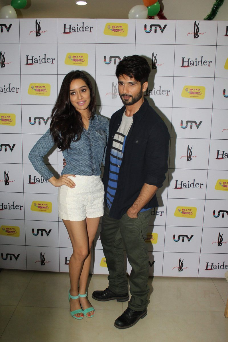 Shahid & Shraddha at Haider Music Launch (6)