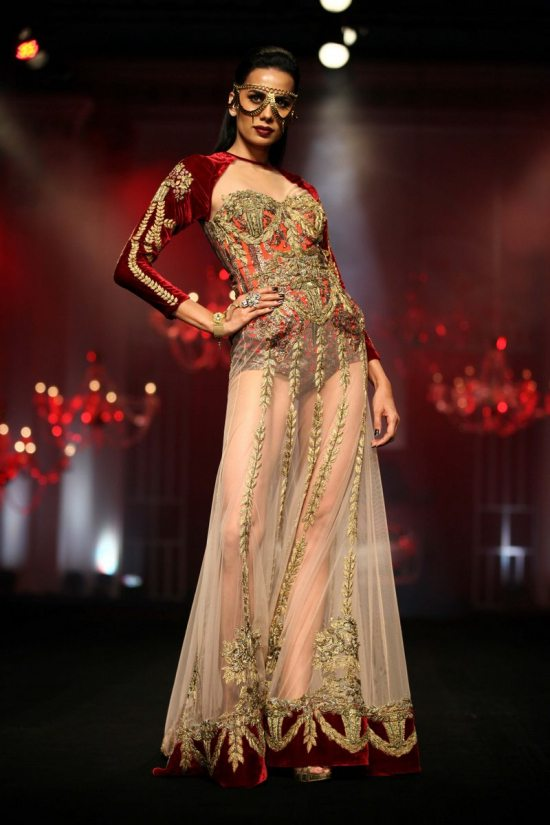 Shane_falguni_peacock_india_bridal_week_20140