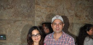 Helen , Salma Khan and Salim Khan attend Singham Returns screening