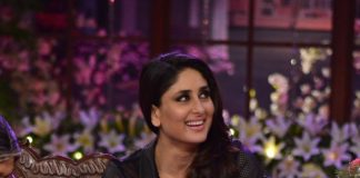 Kareena Kapoor and Ajay Devgn promote Singham Returns on Comedy Nights With Kapil