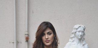 Rhea Chakraborthy and Ali Fazal shoot for Sonali Cable