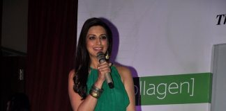 Sonali Bendre launches Oriflame Ecollagen