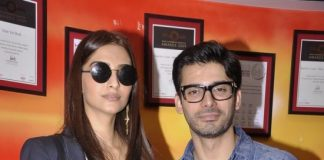 Sonam Kapoor and Fawad Khan at Red FM for 'Khoobsurat' promotion