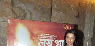 Surveen Chawla attends special screening of Lai Bhari