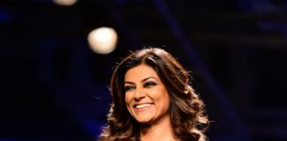 Lakme Fashion Week Winter/Festive 2014 Photos – Sushmita Sen walks for Amit Agarwal