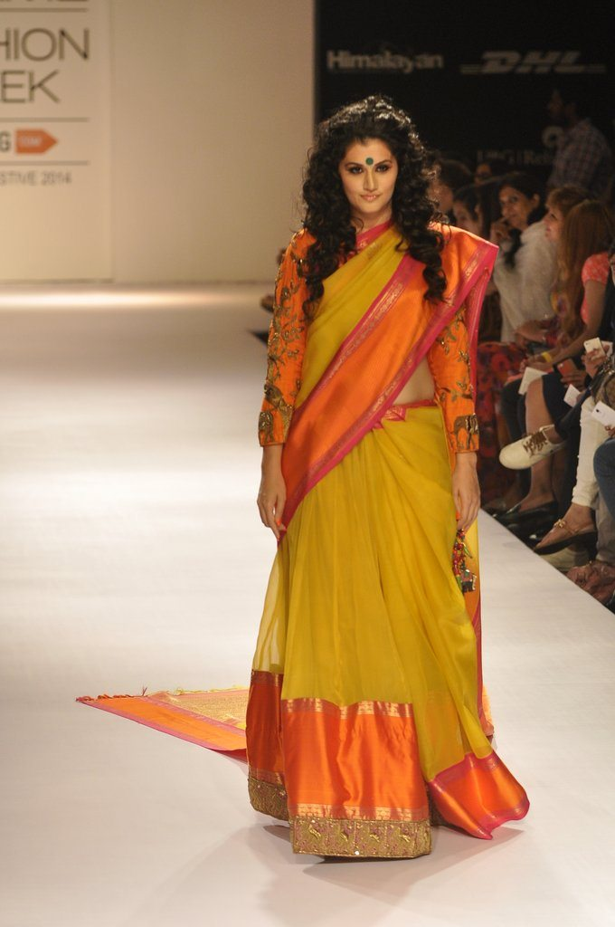 Taapsee Pannu walks for Gaurang Shah