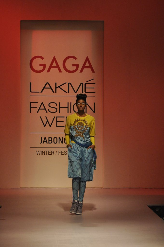 Gaga collection tanya sharma lfw 2014