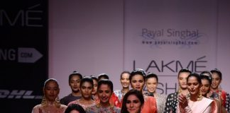 Lakme Fashion Week Winter Festive 2014 Photos – Vaani Kapoor walks for Payal Singhal