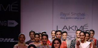Lakme Fashion Week Winter Festive 2014 Photos – Vaani Kapoor walks for Payal Singhal