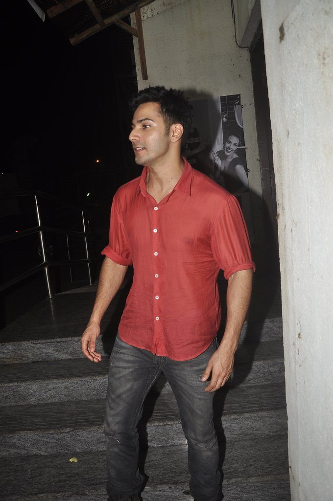 Varun Dhawan PVR photos