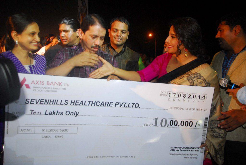 Vidya Balan donation (6)