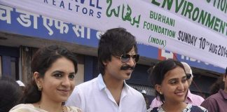 Vivek Oberoi attends inauguration of I Love Mumbai