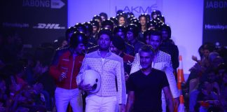 Lakme Fashion Week Winter Festive 2014 Photos – Yuvraj Singh walks for Arjun Khanna