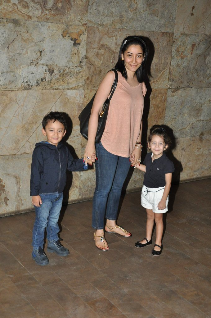 sanjay dutt and manyata kids