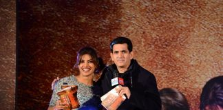 Mary Kom and Priyanka Chopra at Mary Kom movie music launch
