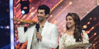 Parineeti Chopra and Aditya Roy Kapur promote Daawat-E-Ishq on Jhalak Dikhhla Jaa – Photos