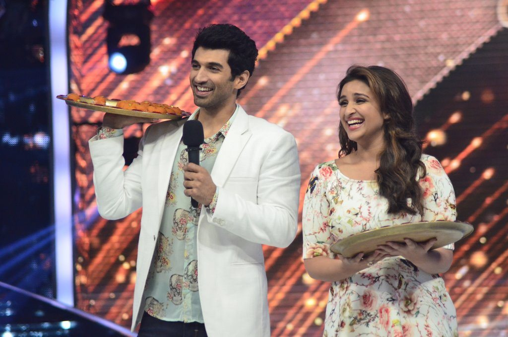parineeti on Jhalak (1)