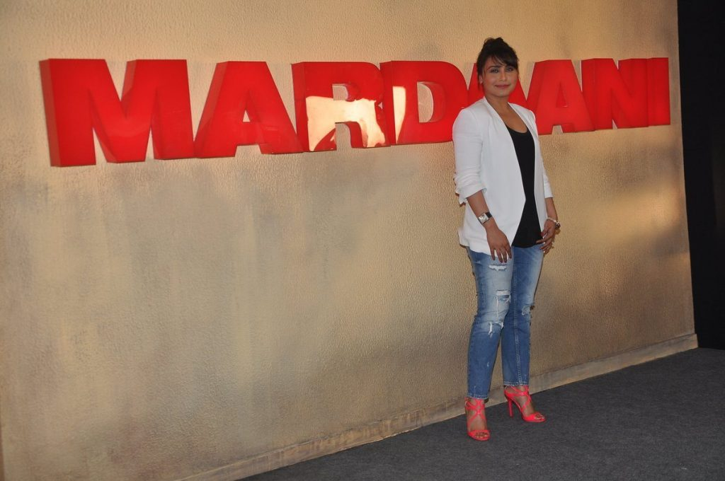 rani at Mardaani press meet